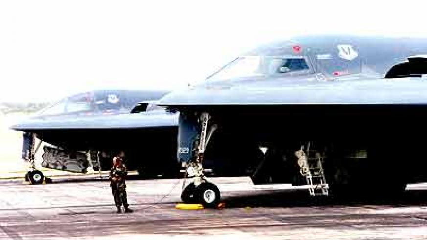 DETERRENT: The US deployed B-20 Bombers to North Korea yesterday. Net photo.