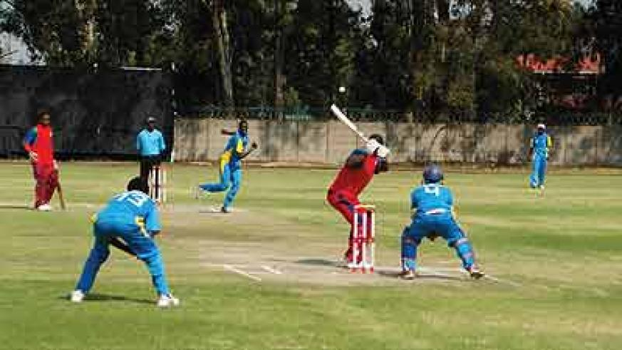 Bowler Don Dieu Mugisha  helped Rwanda beat The Gambia by 152 runs on Thursday at the on-going Division 2 tournament in Johannesburg, South Africa. Net photo.