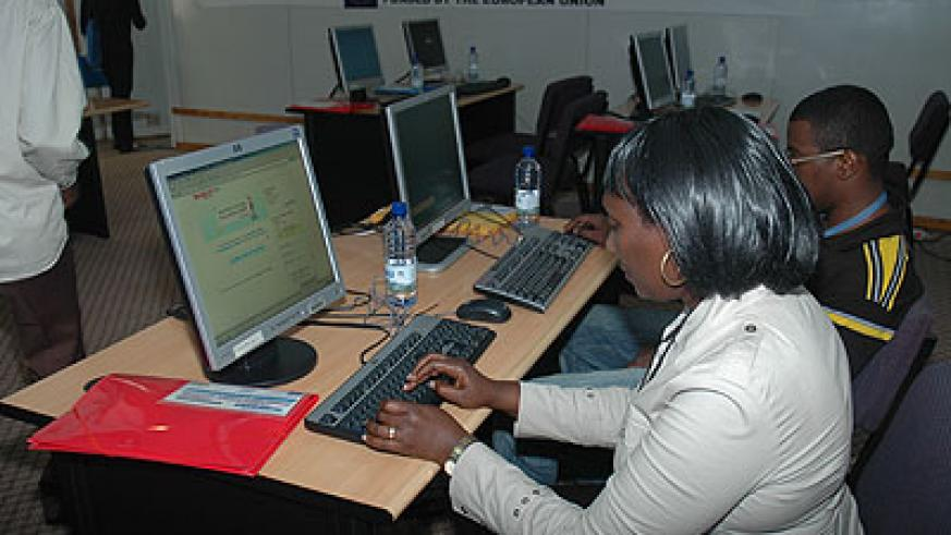 The Seacom cable cut had a big impact on internet services countrywide.  The New Times/Timothy Kisambira.