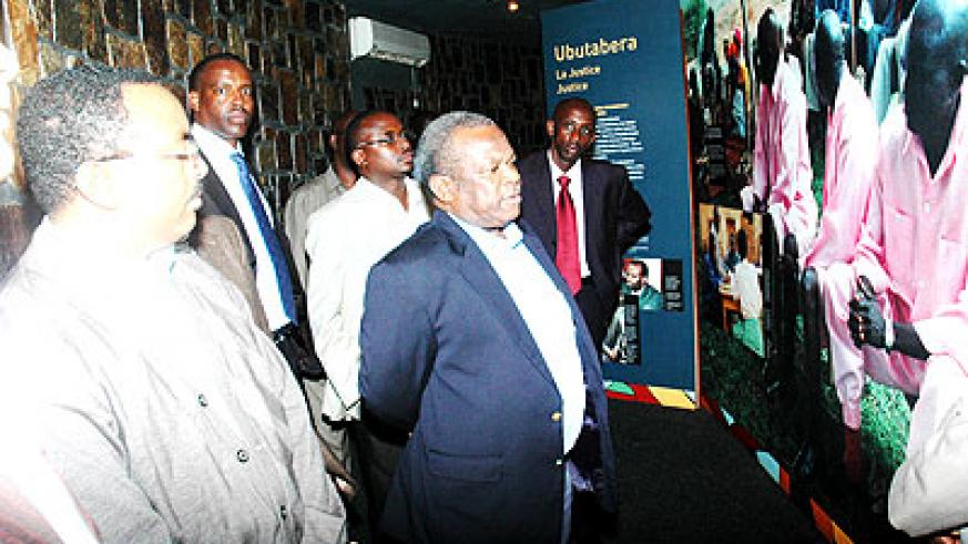 Tanzanian officials visit Kigali memorial centre in 2009. Some 917 remains of victims of the 1994 Genocide against the Tutsi were discovered buried in the Kagera region in Tanzania in ....