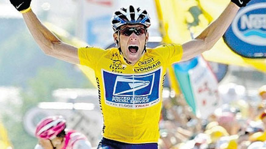 Armstrong was stripped of his seven Tour titles after coming clean about doping. Net photo. Net photo.