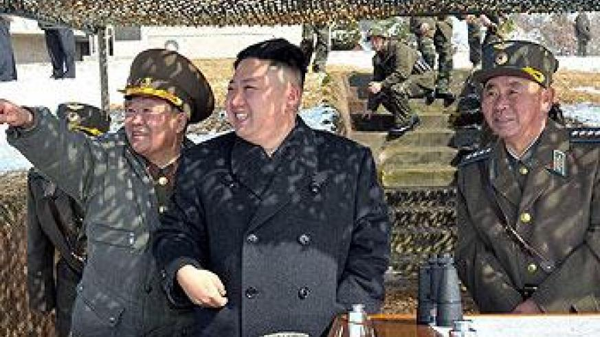 North Korea has appeared increasingly belligerent since the UN tightened sanctions. Net photo.