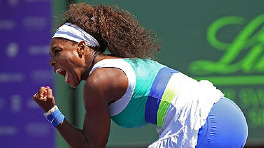 Serena Williams collected her 49th career title in South Carolina. Net photo.