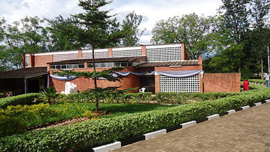 Nyamata Cathedral turned Genocide Memorial where thousands of people were killed.