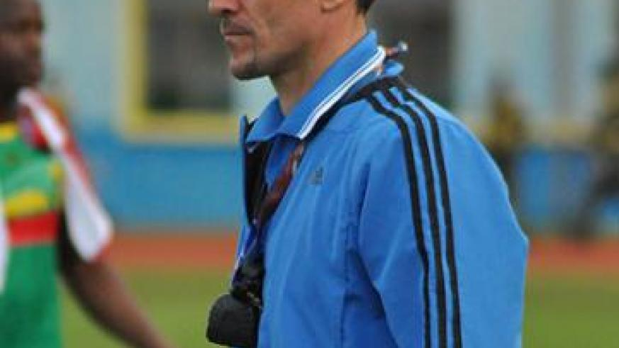 Milutin 'Micho' Sredojevic's team lost 1-2 against Mali last month. The New Times/P. Muzogeye.