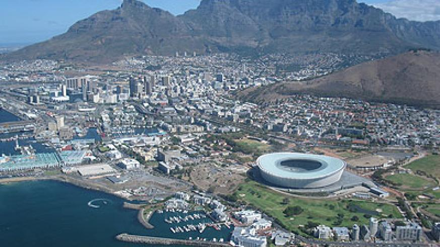 An aerial view of Cape Town and the magnificent Table Mountain. Saturday Times/Net photo