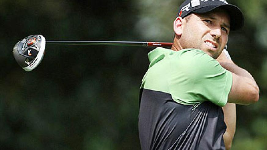 Sergio Garcia shot an opening-round 66 to share the overnight lead with Marc Leishman. Net photo.