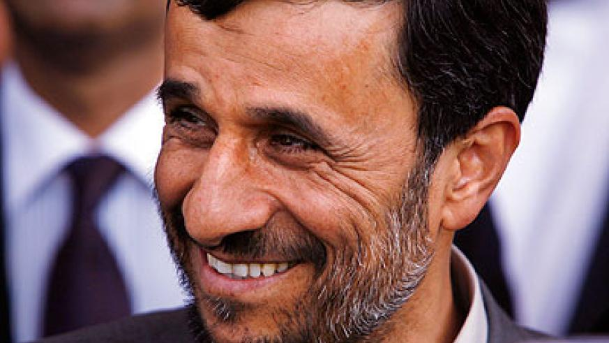 Ahmadinejad is visiting in his capacity as chairman of the Non-Aligned Movement of countries. Net photo.