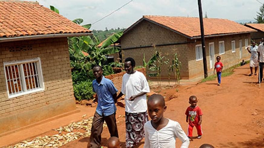 A Genocide survivors' village constructed by FARG in Kicukiro district. The Fund is planning to increase shelter support to survivors. New Times/  John Mbanda.