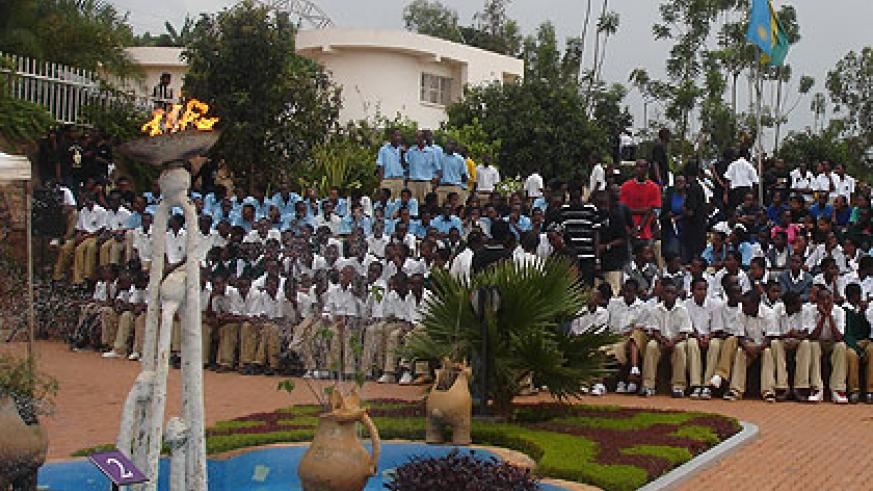 Students at Kigali Genocide Memorial Centre last year. Visiting memorial centres could soon be compulsory for students, according to officials working on curriculum revision . The New ....