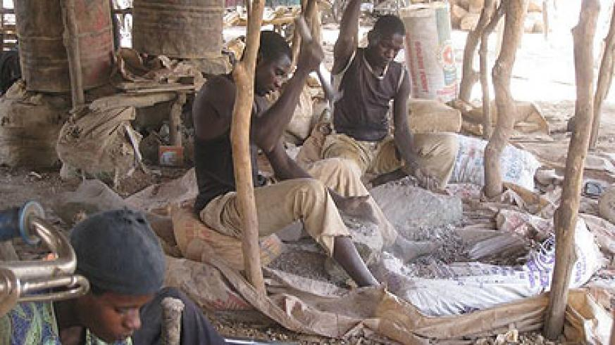 The contamination in Nigeria's Zamfara state is seen as the worst case of lead poisoning in the world. Net photo
