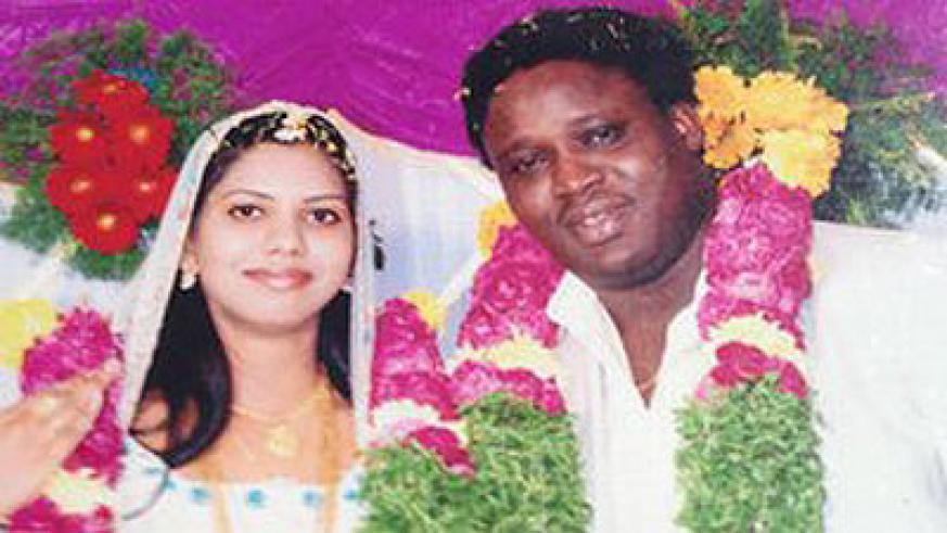 Sheeba Rani's parents blessed the couple saying the marriage was God's wish. Net photo