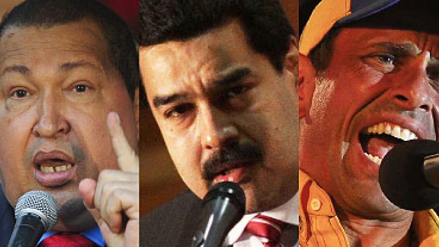 LEGACY: Chavez left a legacy that former bus driver Maduro will have to struggle to equal in his presidency.CHALLENGES: Maduro's challenges are not only in the calibre of challenger ....