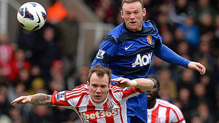 Wayne Rooney wants to stay at Old Trafford but is reported to be a target for PSG. Net photo.