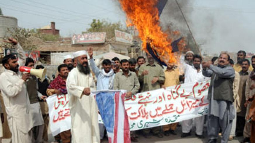 Pakistan repeatedly denounces US drone strikes, criticising them as a violation of its sovereignty. Net photo.