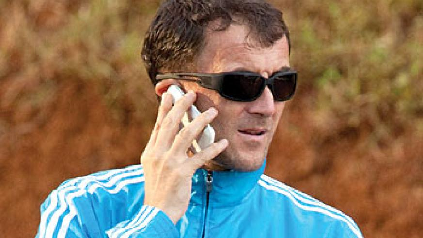 Milutin 'Micho' Sredojovic has been sacked after serving as Amavubi coach for 18 months. The New Times/T. Kisambira.