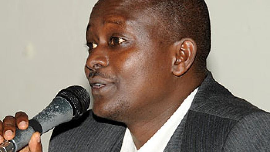 The Permanent Secretary in the Ministry of Sports Edward Kalisa.
