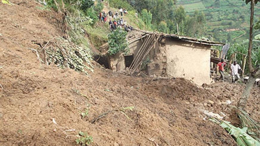 The house in which the Karongi family perished. courtesy pgoto