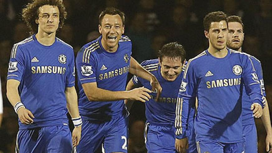 John Terry's double has boosted Chelsea's Champions League hopes. Net photo.