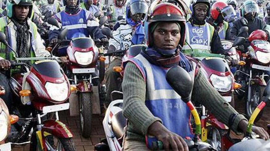 Motorcycle riders have been urged to remain cautious over the security of their bikes and avoid putting them under direct threat of being stolen. The New Times/T.Kisambira.