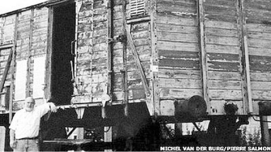 During the making of a film, Gronowski was shown wagons used by the Nazis. Net photo