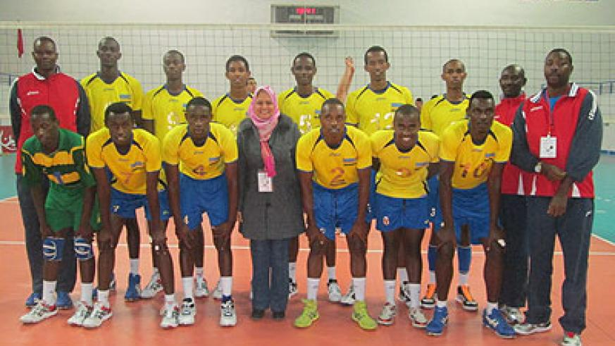 A cross section of the junior national team that qualified for the world championships after finishing third at the African championships played in Tunisia last month.  Inset: Sport Mi....