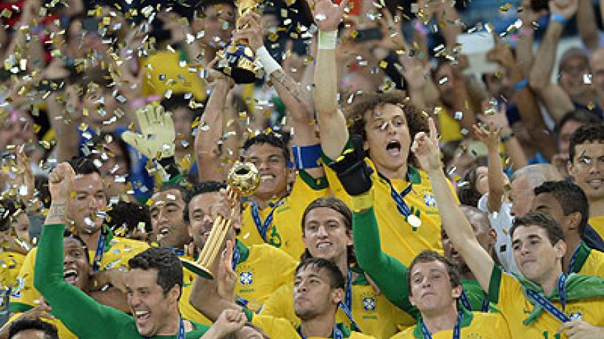 Brazil's players were clearly stung by a decade in which Spain won the World Cup once and the European Championship twice. Net photo.