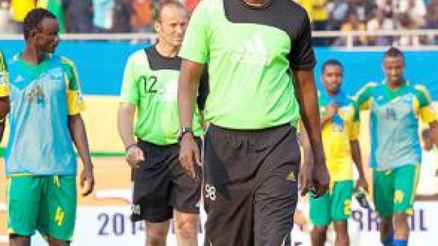 Coach Eric Amavubi is seeking to guide Rwanda to the Africa Nations Championships to be held in South Africa next year. The tough road starts on Sunday against Ethiopia in the first le....