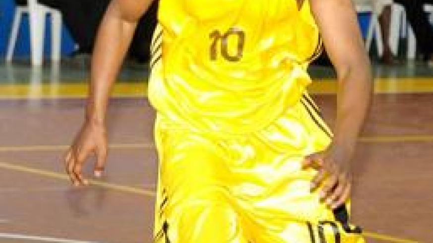 Hamza Ruhezamihigo is back into the national team after missing the Zone V championship held in Tanzania early this year. The New Times/ File.