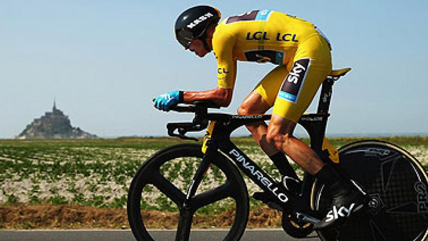 Chris Froome strengthened his grip on the yellow jersey on stage 11.