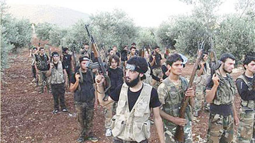 The Free Syrian Army (FSA) and al-Qaeda-linked fighters have clashed again. Net photo.