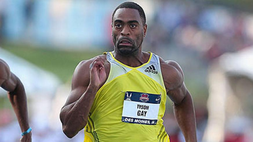 Tyson Gay- Won gold in the 100m at the 2007 World Championships