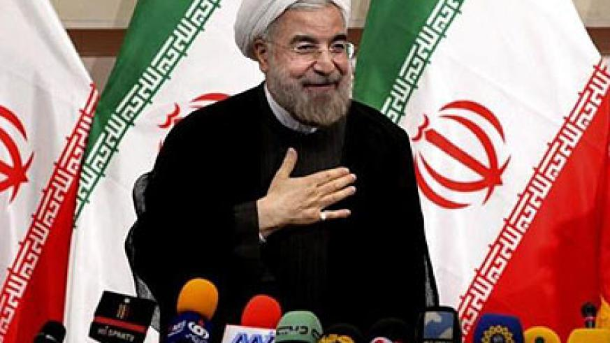 Hassan Rouhani will succeed Mahmoud Ahmadinejad as Iran's president on August 3. Net photo.