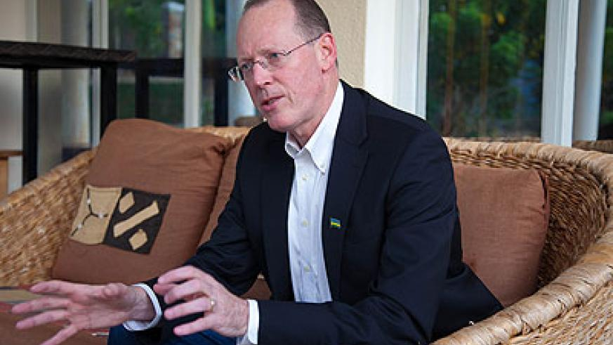 Dr Paul Farmer, Partners in Health founder and Global Health Equity advocate. The New Times/T. Kisambira.