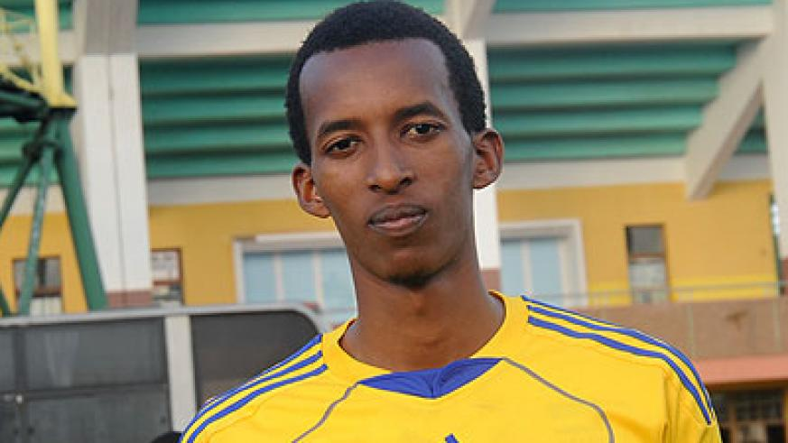 Center Player Fred Musoni will be among Bitok's team which takes on Egypt this evening. The New Times/File