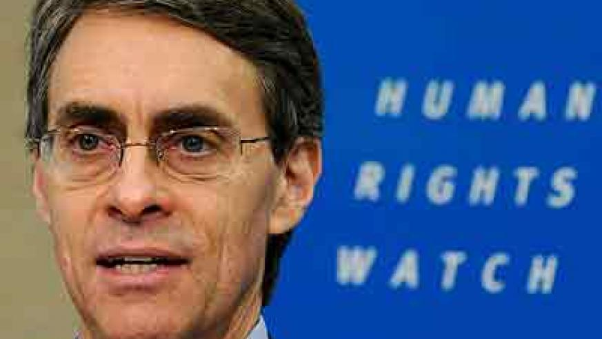HRW's Kenneth Roth is considered Rwanda's staunchest ennemy. Some say he's in bed with genocidaires. Net photo.