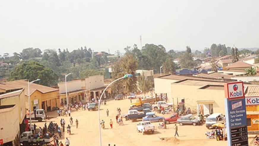 Huye district plans to overhaul the city with old structures to pave way for redevelopment. The New Times/ Jean Pierre Bucyensenge.