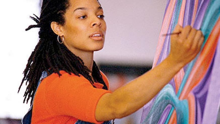 Painting requires determination and patience. Net photo