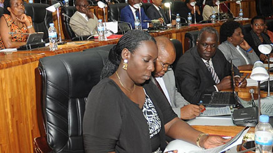 A section of legislators in Parliament. The New Times/File