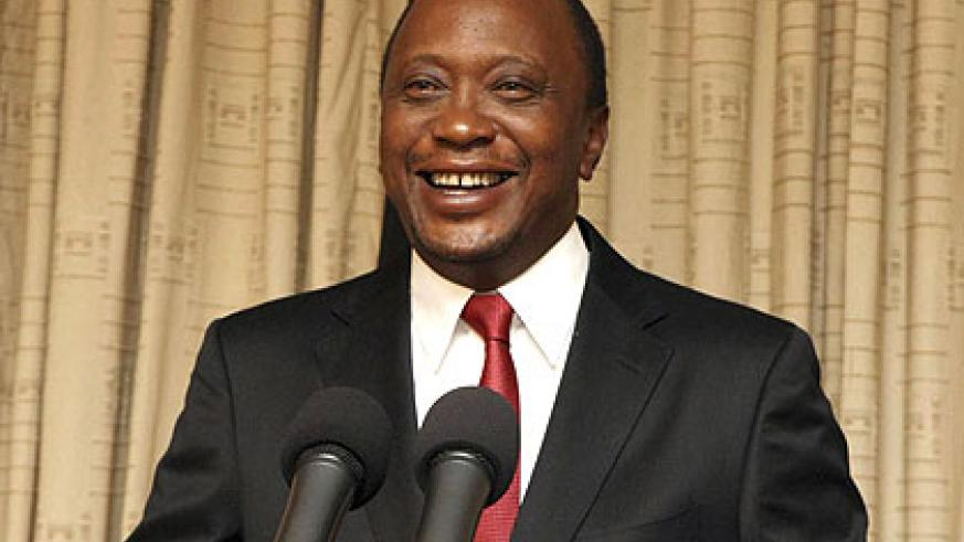 President Uhuru Kenyatta has urged a political solution to the security crisis in eastern DRC. Net photo.