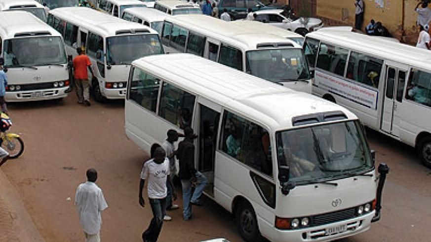 Rura and City of Kigali have moved to improve public transport in the city. The New Times / File photo