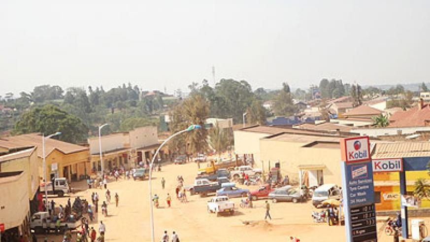 Some of the houses that were to be locked down on July 31 in Huye District. The New Times/J.P. Bucyensenge.