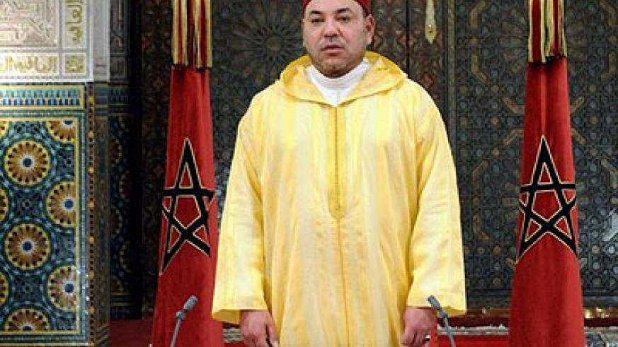 Morocco's King Mohamed VI has revoked a pardon granted to a Spanish paedophile. Net photo.