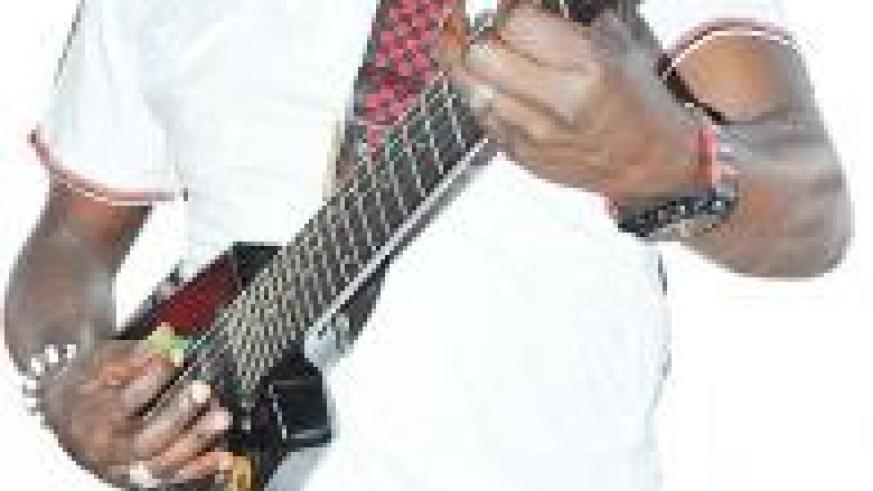 Francois Mihigo Chouchou is a renowned local artiste.