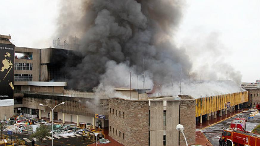 Firefighters struggled to contain the flames, which started at around 04:30 a.m. local time (0130 GMT).  Photo Xinhua.