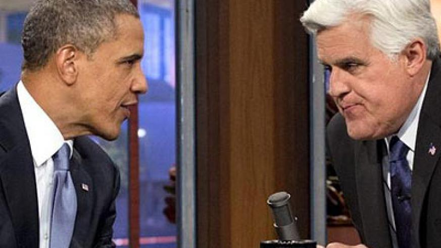 Speaking on a late-night comedy show, Barack Obama confirmed plans to attend the G20 summit in Russia. Net photo.