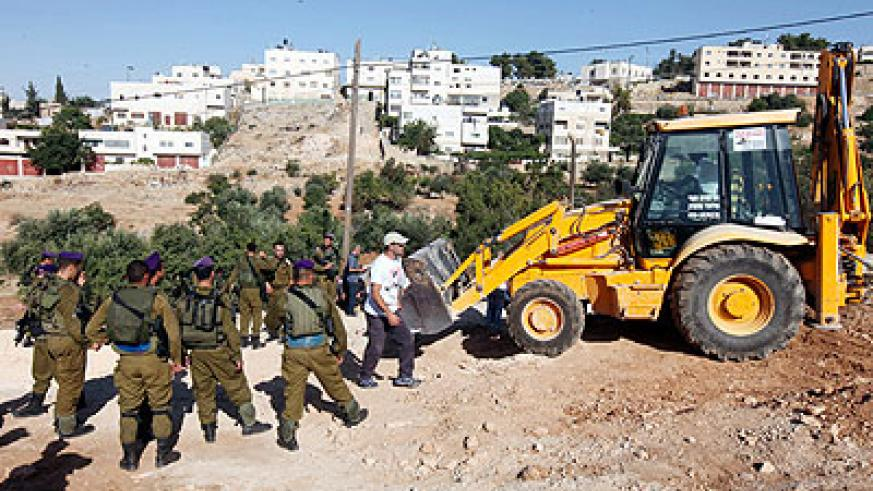 The expansion of illegal settlements may complicate US-sponsored Israeli-Palestinian peace talks. Net photo.