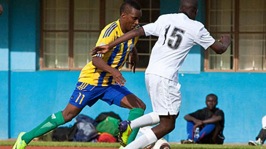 APR will bank on attacking midfielder Patrick Sibomana against Simba of Uganda this afternoon in Kenya. The New Times / File.