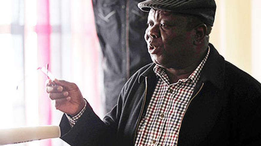 Tsvangirai rejected the vote outcome after calling the elections fraudulent. Net photo.