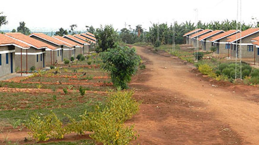 Kitazigurwa model in Rwamagana District boasts basic infrstructure and decent housing. Saturday Times/Stephen Rwembeho.